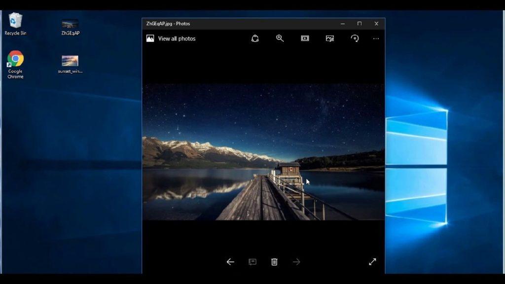 Как вернуть старый просмотр фотографий в Windows 10