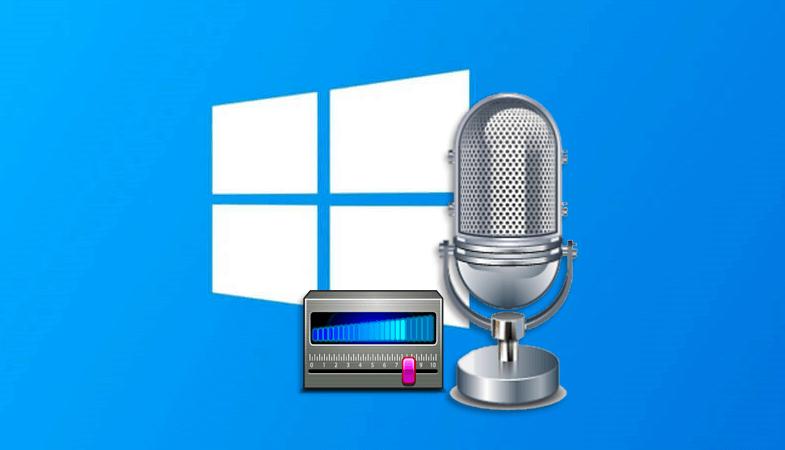 Увеличиваем громкость микрофона в Windows 10