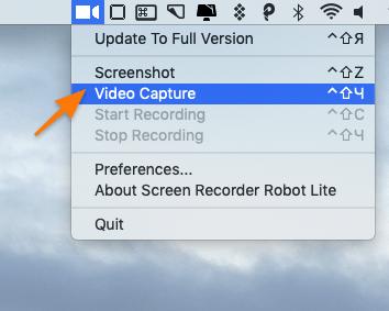 Screen Recorder Robot Lite video capture