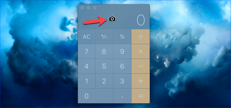 фото калькулятора макос
