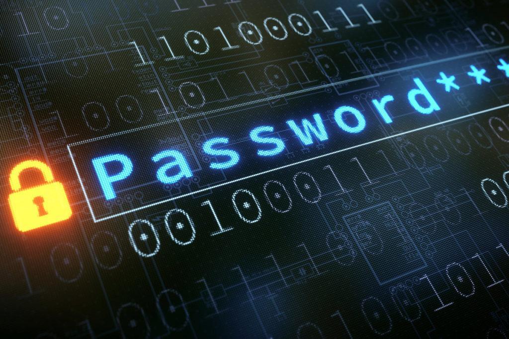 изменить пароль в Windows 10