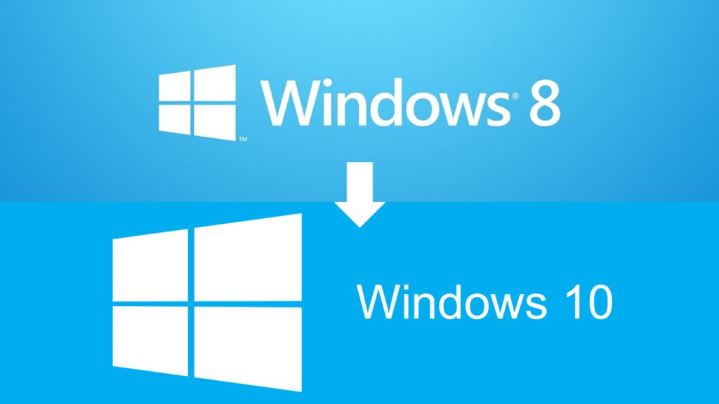 Обновление с Windows 8 на Windows 10