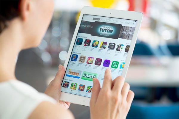 iPad и AppStore.