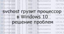 Svchost.exe: что это и почему он грузит процессор