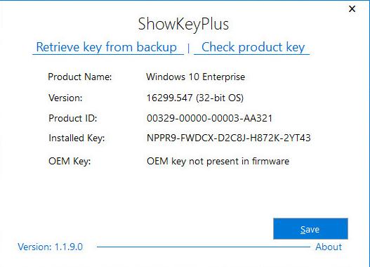 ShowKeyPlus