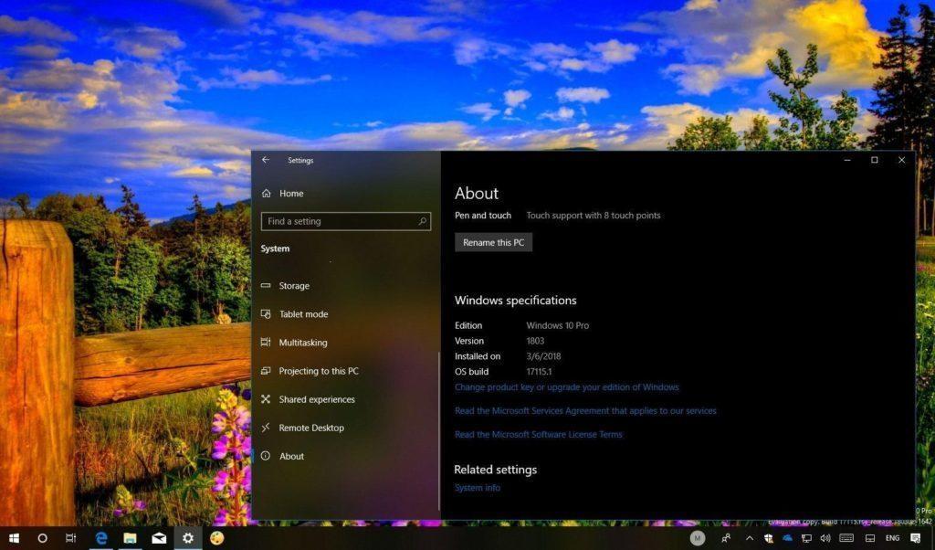 оформление Windows 10