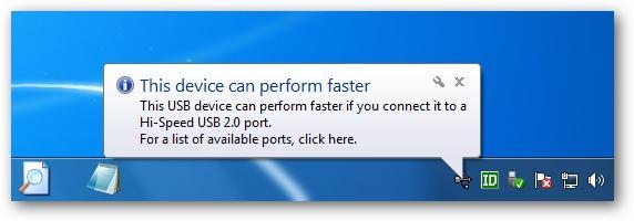 Окно уведомлений Windows 7