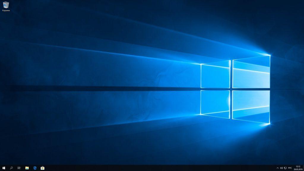 переустановленная система Windows 10