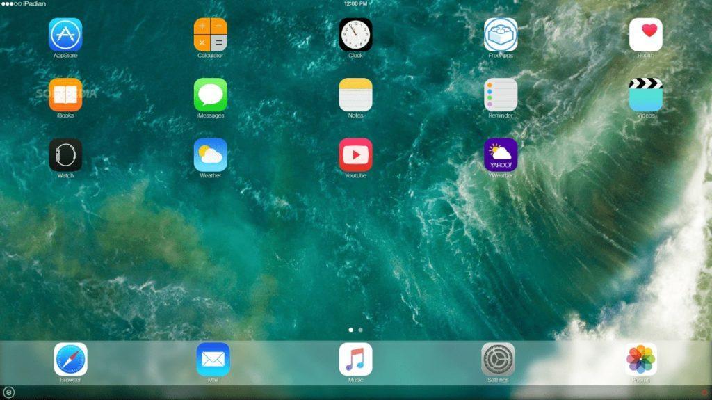 Эмуляция iPad в iPadian 2.