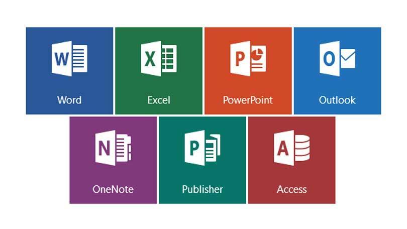 Типы программ Microsoft Office