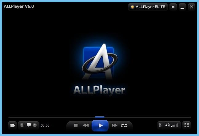 ALLPlayer интерфейс