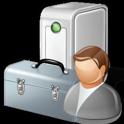 Иконка диспетчер устройств, пользователь