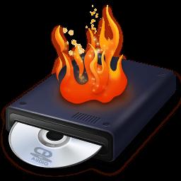 Иконка запись диска
