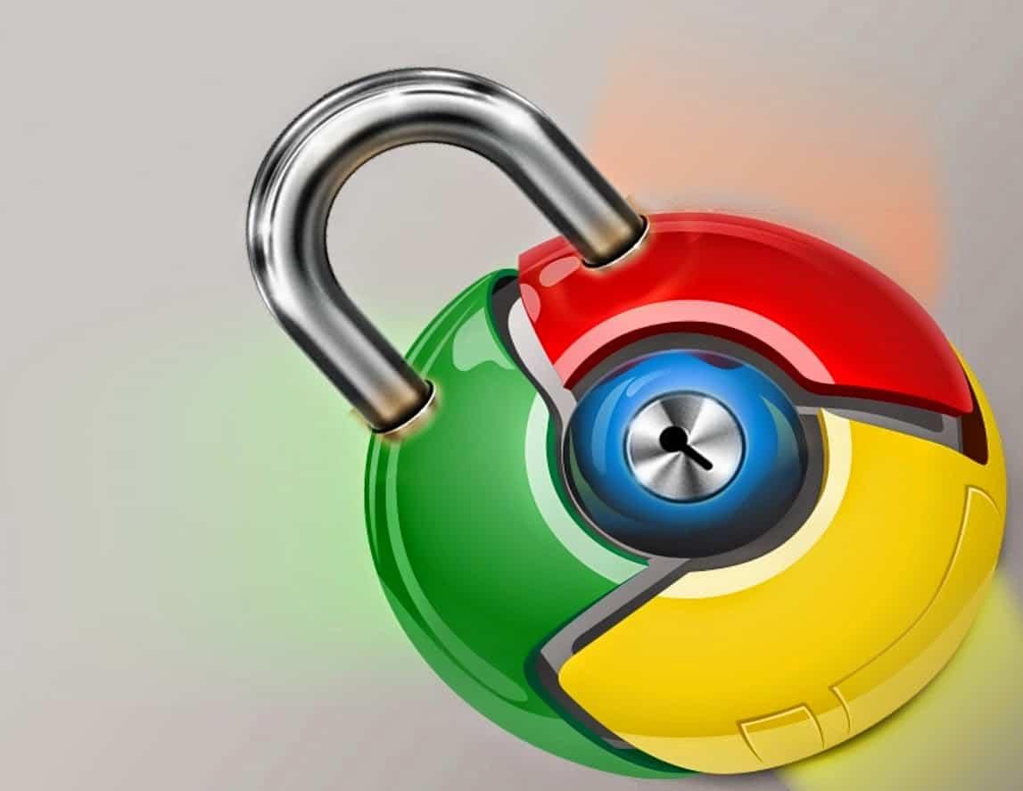 Ставим пароль на браузер Google Chrome
