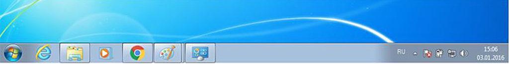 панель задач на рабочем столе windows 7 pro