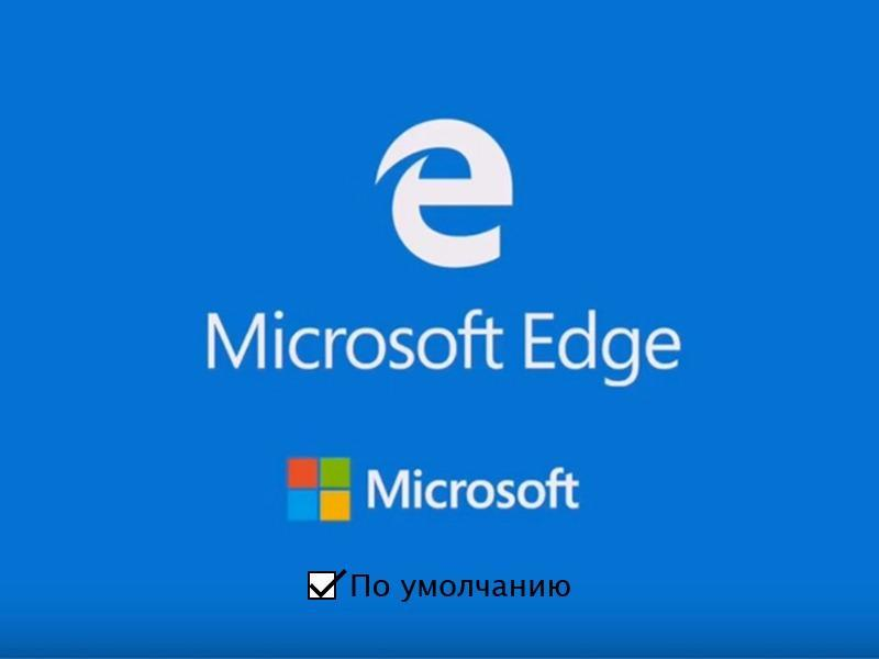 Делаем Microsoft Edge браузером по умолчанию