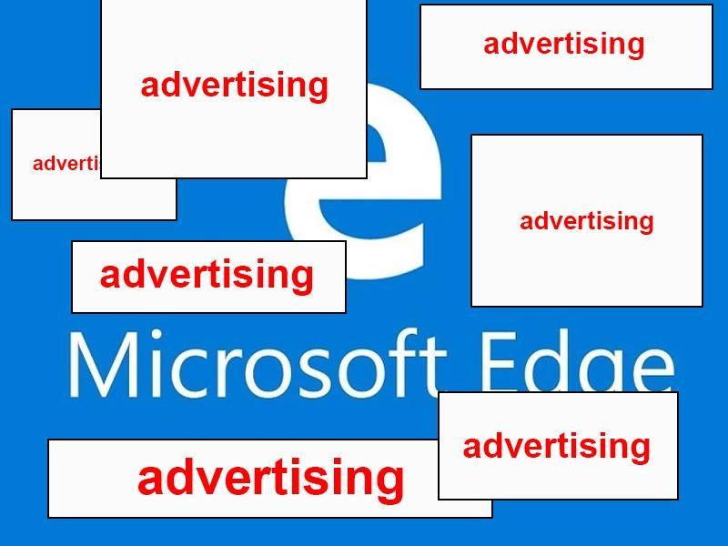 убираем рекламу в microsoft edge