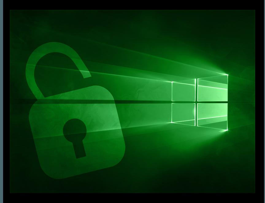 сброс пароля на windows 10