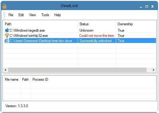 DeadLock удаление файлов
