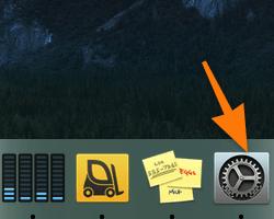 Панель избранных программ в macOS