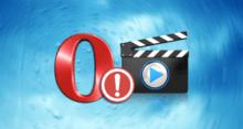 Не работает видео в браузере Opera – решения