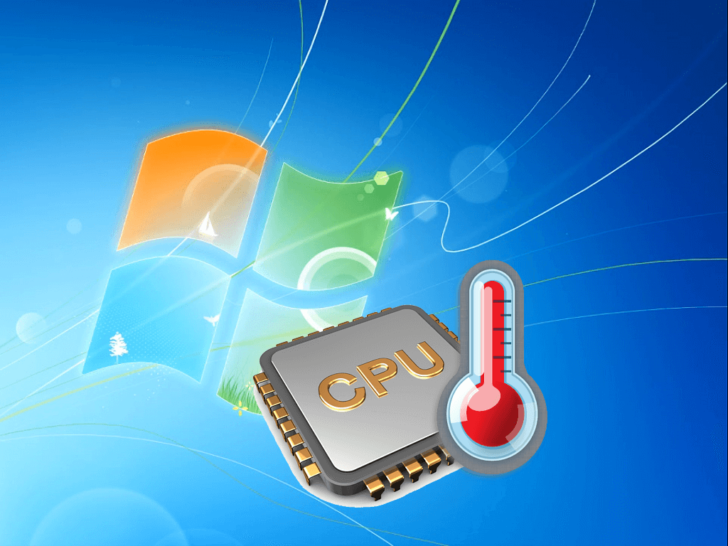 Температура процессора в Windows 7