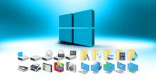 Как поменять иконки в Windows 10