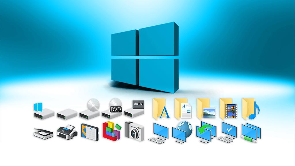 иконки в windows 10