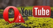 Не работает YouTube в браузере Opera – решения