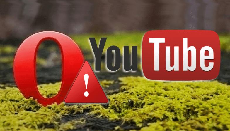 Проблемы с видео YouTube в Opera