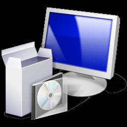 Иконка компьютер, установочный пакет