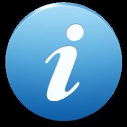 Иконка общая информация, сведения