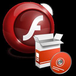 Иконка Flash Player, установка