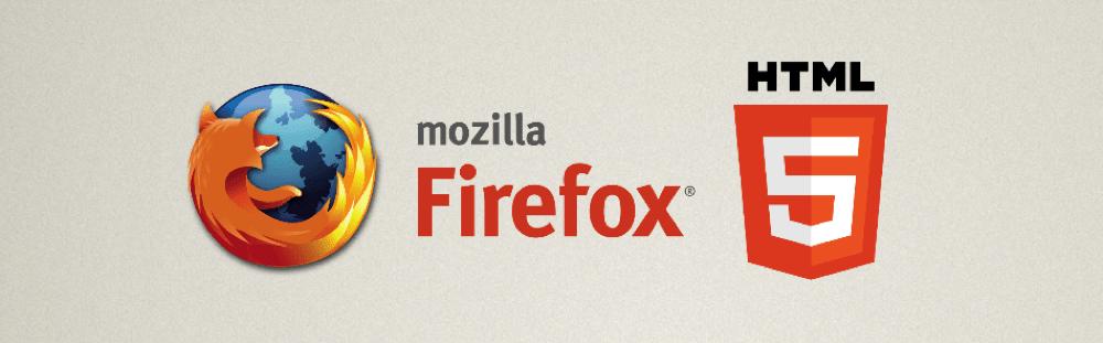 Поддержка html5 в mozilla firefox