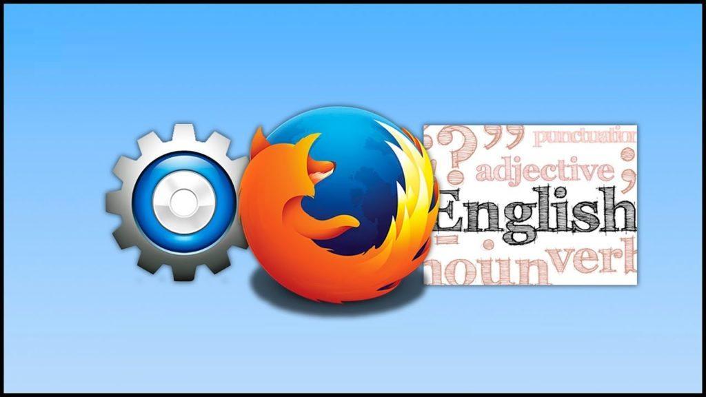 Как изменить язык в Mozilla Firefox