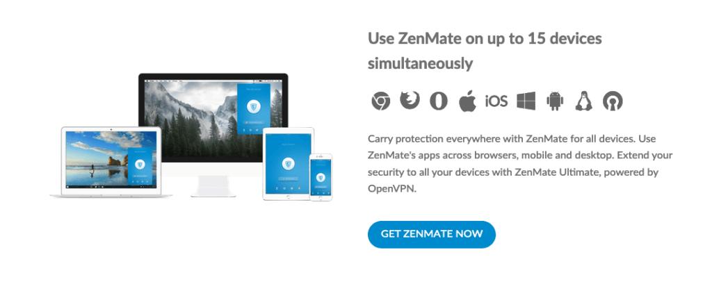 Официальный сайт ZenMate
