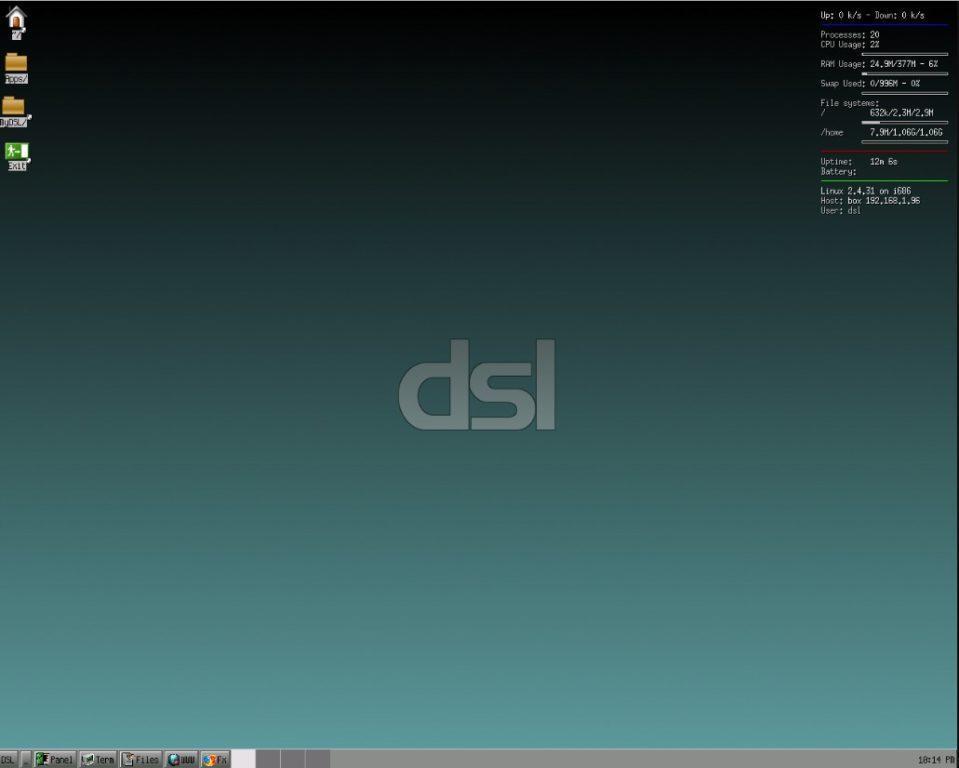 Самая легкая версия ОС Linux