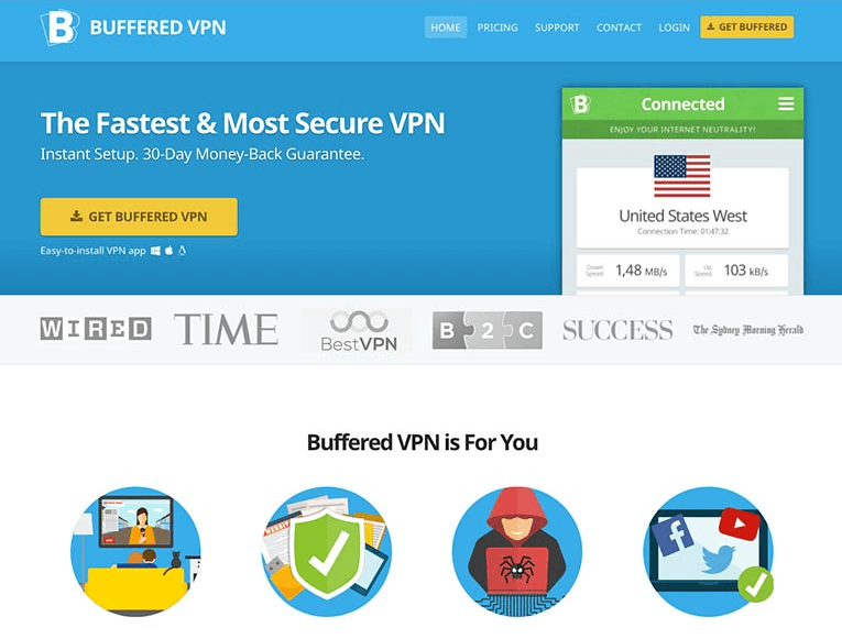 Buffered VPN для ОС Linux