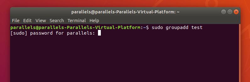 Запрос на ввод пароля суперпользователя в Ubuntu