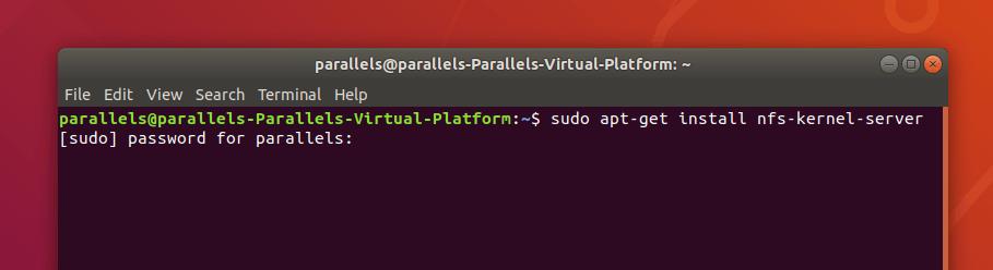 Запрос на ввод пароля sudo в Ubuntu