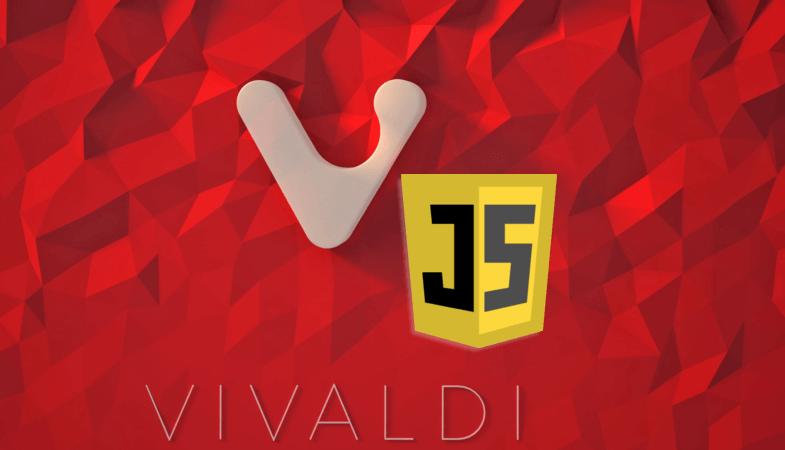 JavaScript в браузере Vivaldi