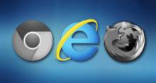 Не работают все браузеры, кроме Internet Explorer