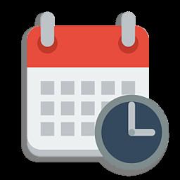 Иконка дата и время