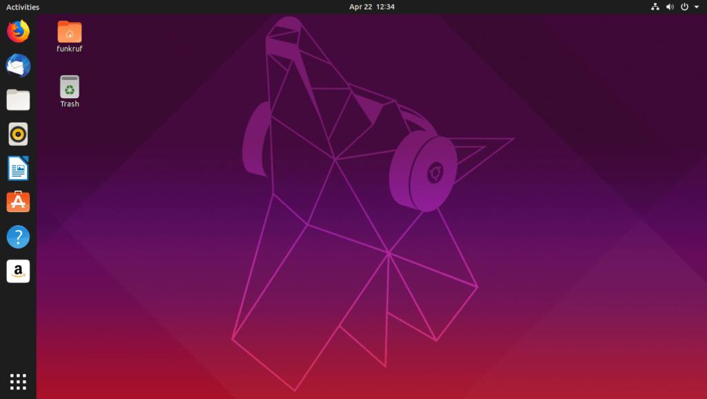 Рабочий стол Unity Ubuntu