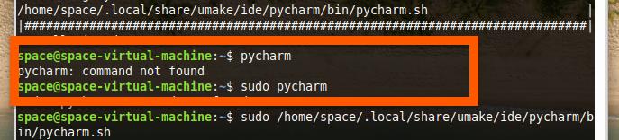 Команда pycharm в Linux Mint