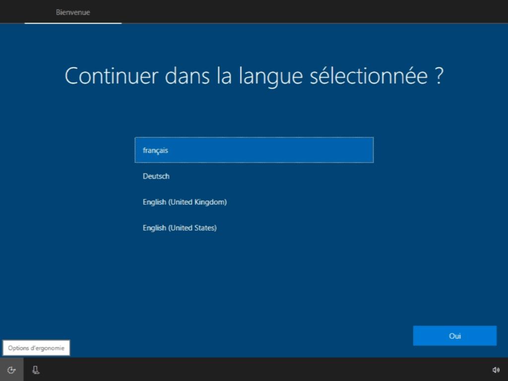 Устанавливаем язык по умолчанию в Windows 10