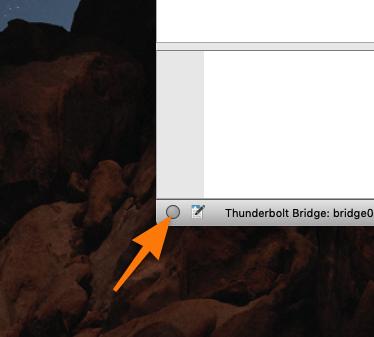 Кнопка, ведущая в меню анализа ошибок подключения