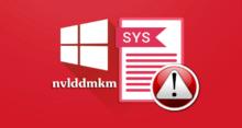 Синий экран смерти nvlddmkm.sys в Windows 10