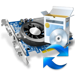 Иконка видеокарта, обновление, драйвер