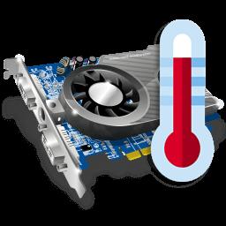 Иконка видеокарта, температура